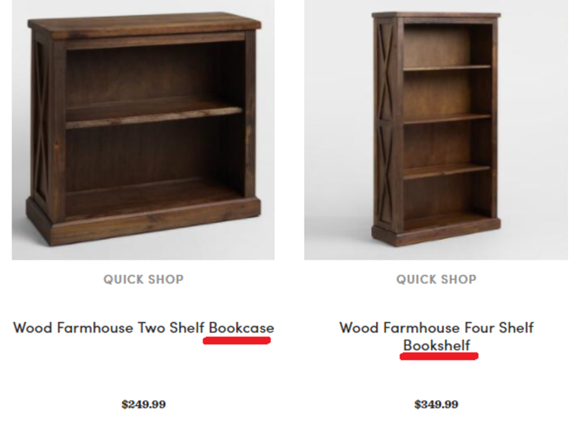 What Is The Difference Between Bookcase And Bookshelf