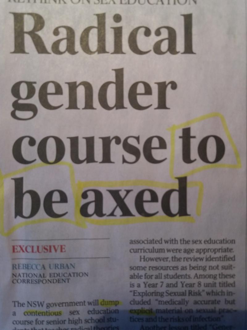 Từ này to be axed có nghĩa là gì?