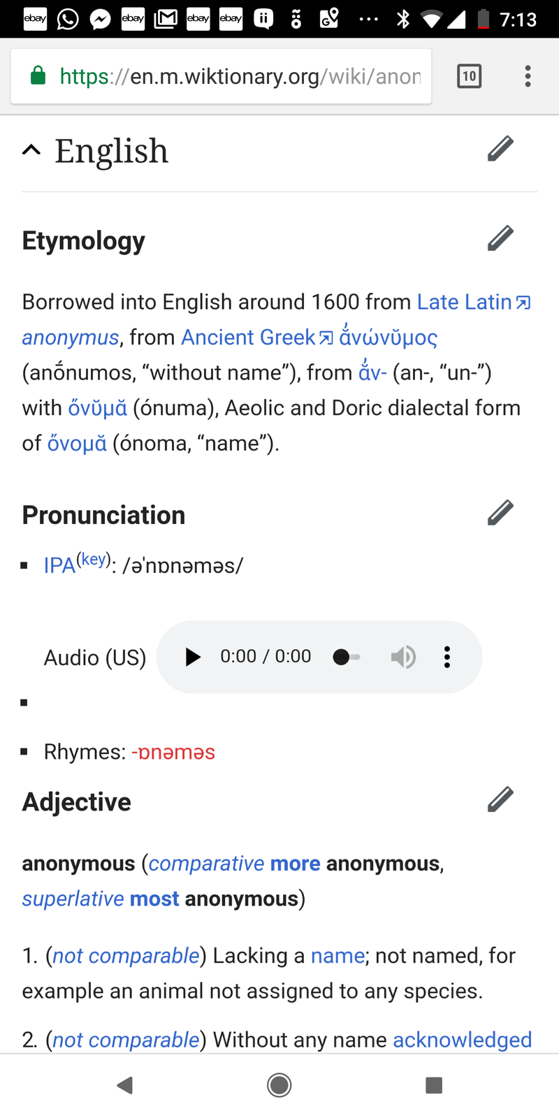 """How do you say """"Anonymous """" in English (US)?  HiNative"""