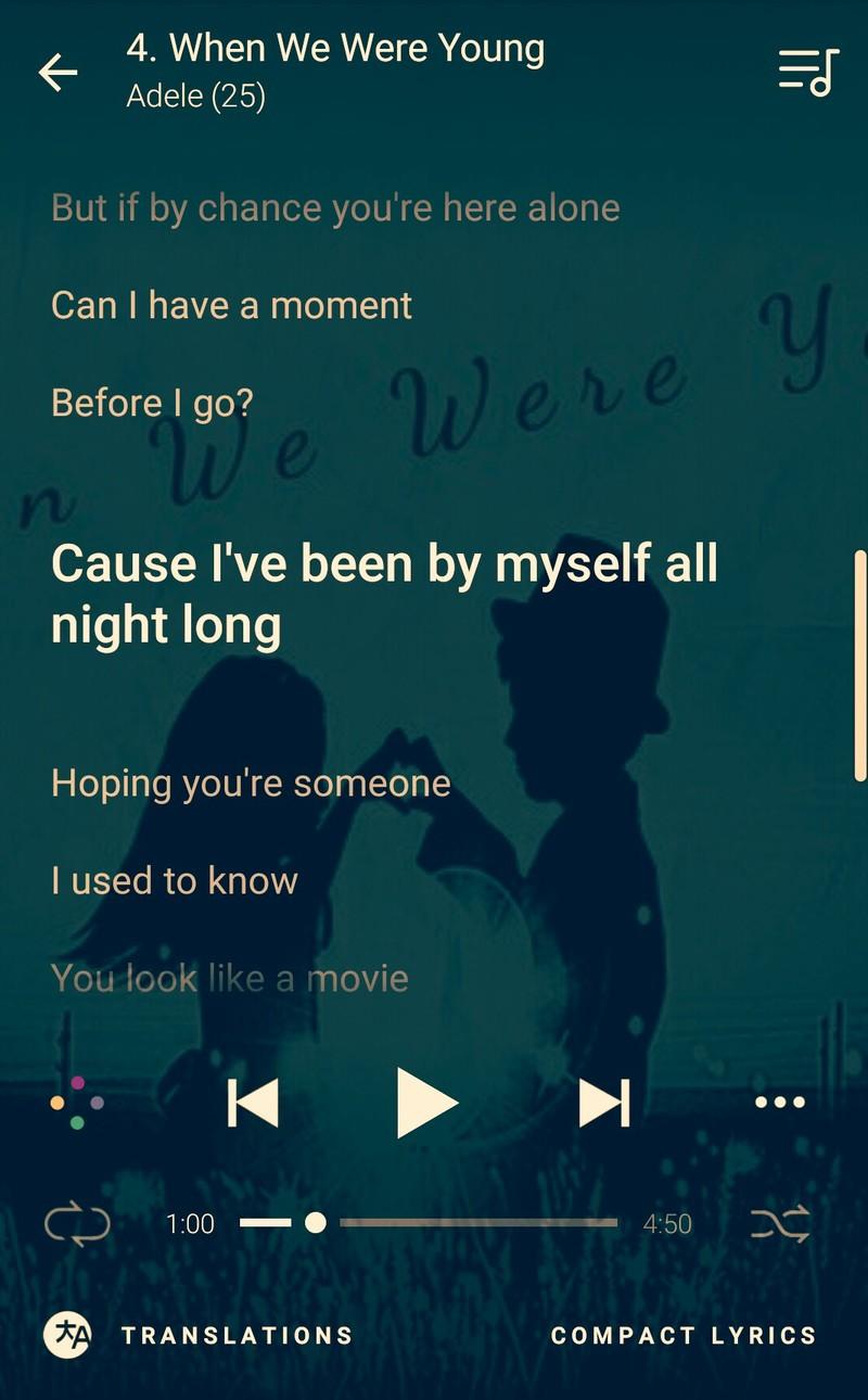 """Từ này """"I've been by myself all night long"""" có nghĩa là gì?"""