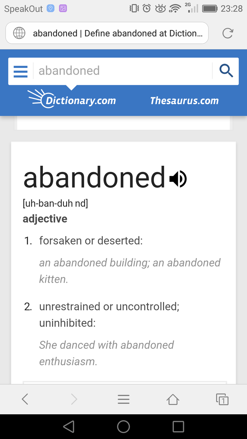 What is the difference between vacate and abandon ? | HiNative